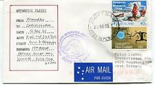 1985 Antarctic Flight Scott Base Ross Dependency New Zealand Polar Cover