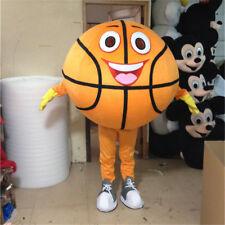 Sports Basketball Mascot Costume Adult Fancy Dress cheerleader Game Fun Prop