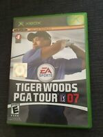 EA SPORTS TIGER WOODS PGA TOUR 07 - XBOX - WORKS ON 360 - COMPLETE W/MANUAL (G)