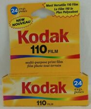 Kodak 110 Film One Roll 24 Exposures Print ISO 400/27 Expired 10/2004 Vtg NOS