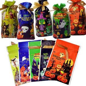 2021 NEW Halloween Pumpkin Party Drawstring Children Treat Sweet Gift Candy Bags