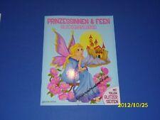 Prinzessinnen und Fee Glitzermalbuch Malbuch mit Glitzerseiten