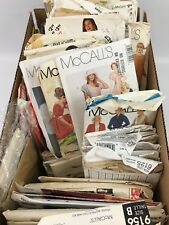 Vintage Sewing Patterns 1950's - 1990's 80+ Lot Collector & Reseller Dream!!