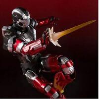 BANDAI S.H.Figuarts Iron Man 3 Mark 22 MK-22 Hot Rod JAPAN Action Figure PVC