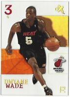 2003-04 Fleer Skybox eX Dwyane Wade Rookie Card Acetate RC RARE PSA10?