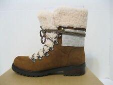 UGG Fraser SHEEPSKIN Shearling LEATHER Combat WINTER Snow HIKER BOOT Womens sz 6