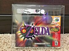 Nintendo N64 - The Legend of Zelda - Majora's Mask CE New Sealed VGA 85+ Gold!