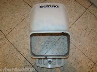 SUZUKI DR 125  SE - 1999 - CARTER CARENAGE FACE AVANT - TETE DE FOURCHE