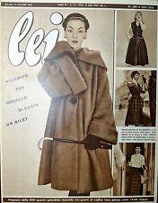 * lei N° 43/ 21/OTT/1952 * Rivista di moda *