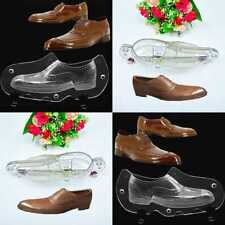 1 Set 3D plastic Sugarpaste Fondant Mould  Baking Shoes Mold Chocolate Cake Tool