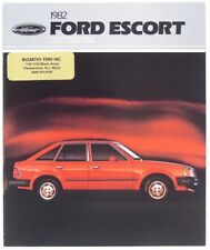 Ford 1982 Escort Dealer Sales Brochure