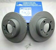 BMW 1 SERIES E81 E87 F20 F21 ATE PAIR OF VENTED COATED FRONT BRAKE DISCS 284MM