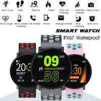 Montre Intelligente Bracelet bluetooth Connectée Fitness Podomètre Cardiaque