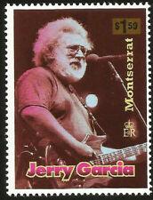 JERRY GARCIA GRATEFUL DEAD VOCALIST MINT $1.50 STAMP MUSIC SONGWRITER JAM ROCK