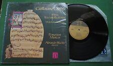 Guillaume Dufay Missa Ecce Ancilla Domini Motets & Chansons H-71367 LP