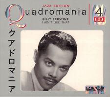 BILLY ECKSTINE – I AIN'T LIKE THAT (4-CD JAZZ COMPILATION REMASTERED)