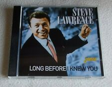 Steve Lawrence : Long Before I Knew You ~ CD Album