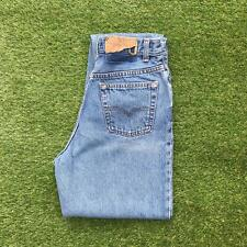 LEVIS 501 Womens High Waisted Mom Jeans 28 x 32 Light Wash | 80s Vintage Canada