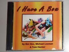 CD by BEV BOS, MICHAEL LEEMAN & TOM HUNTER -I HAVE A BOX...IT'S AN OLD SHOE BOX