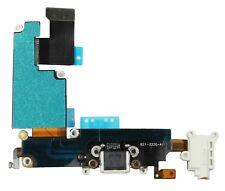 Headphone Audio Dock Connector Charging USB Port Flex Cable White iPhone 6 Plus