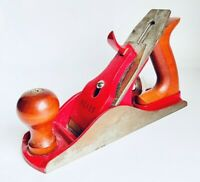 "Sears Vintage Red WoodWorking Hand Planer Model #107-37033 9"" Vintage Plane"