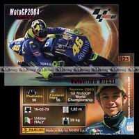 #pngp04.123 ★ Pilote VALENTINO ROSSI (YAMAHA) ★ Panini Moto GP 2004