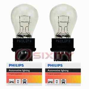 2 pc Philips Brake Light Bulbs for Saturn L100 L200 L300 LS LS1 LS2 LW1 LW2 el