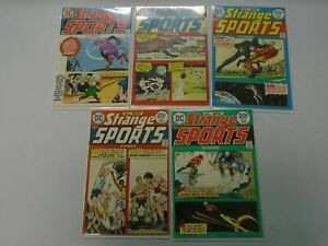 Strange Sports Stories near set:#1- #6 avg 5.0 (1973)