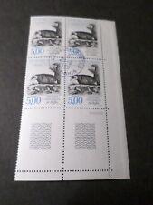 FRANCE 1988, BLOC timbres 2542, ANIMAUX, BLAIREAU oblitéré 1° JOUR FDC, STAMPS