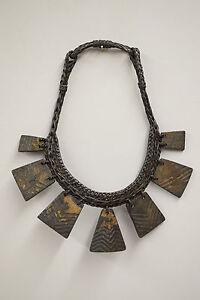 Necklace Ifugao Wood Status Necklace Philippine Tribal