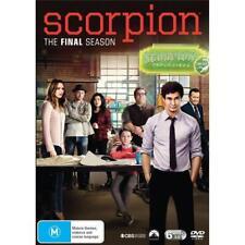 Scorpion : Season 4 (DVD, 2019, 6-Disc Set)