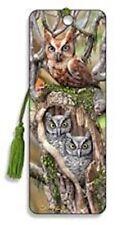 Artgame - 3d Bookmark - Owls