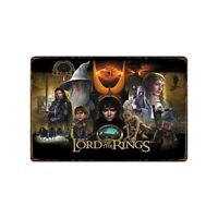 Lord of the Rings Pinball Game Tin Metal Sign Rustic Advertising Wall Art decor