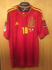 Camiseta Selección Española EURO 2012 FINAL JORDI ALBA SPAIN Shirt  Adidas