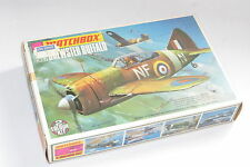 vintage matchbox model kit mib unused 1/72 Brewster Buffalo military aircraft