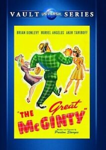 The Great McGinty - New and Sealed Region 1 DVD