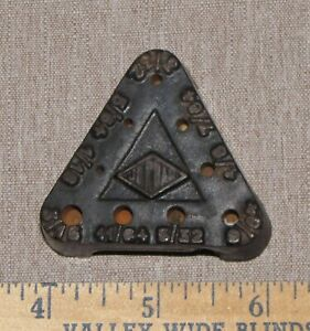 Vintage Mini JORDAN Tool Drill Bit Holder Cast Iron Germany