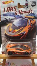 Hot Wheels Pop Culture Cars & Donuts Mc Laren P1 (N17)