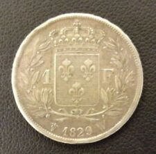 FRANCE CHARLES X 1 FRANC 1829 W LILLE