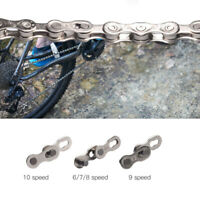 5 Pairs Heavy Duty Bike Quick Release Chain Link Joint Connector for 6/78/9/10