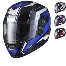 THH TS-80 #6 Motorcycle Motorbike Full Face Inner Sun Visor Crash Helmet
