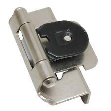 PAIR AMEROCK Satin Nickel 1/2 SemiWrap Double Demountable Steel Hinge CMR8704G10