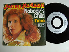 "PENNY Mc LEAN: Nobody's child / Time 7"" 45T French EURODISC 911 091 levay kunze"