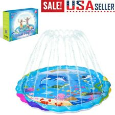 New listing Silo Splash Pad 172 cm Sprinkler Play Mat Inflatable Water Toys Swimming Pool Us