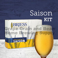 BRIESS Better Brewing Saison 5 Gallon Homebrew Beer Recipe & Ingredients Kit