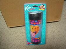 Barbie and Ken Good Morning Kiss 14oz Plastic Travel Coffee Mug  BNIP
