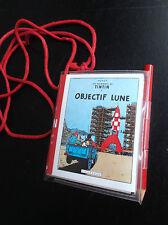 RARISSIME Bloc Notes Livret Tintin Objectif Lune Graffiting Lombard 1979
