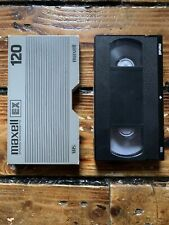 Maxell EX 120 VHS Tape SOLD AS BLANK Beverly Hills Cop