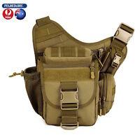 Protector Tactical Military Shoulder SLR Camera Outdoor Bag hiking camping