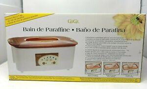 GiGi Paraffin Bath Spa w/ 6 lbs Wax 0953 New